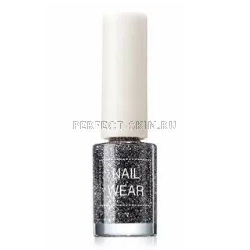 The Saem Nail Wear 75 Dote Black 7ml