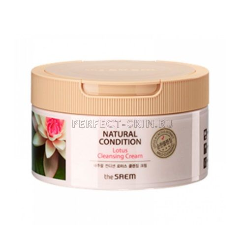 The Saem Natural Condition Lotus Cleansing Cream N2 300ml