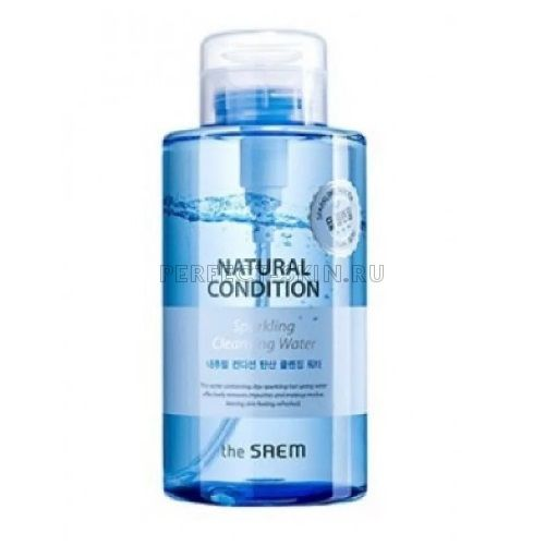 The Saem Natural Condition Sparkling Cleansing Water 500ml