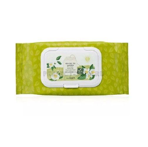 The Saem Healing Garden Green Tea Cleansing Tissue 240g
