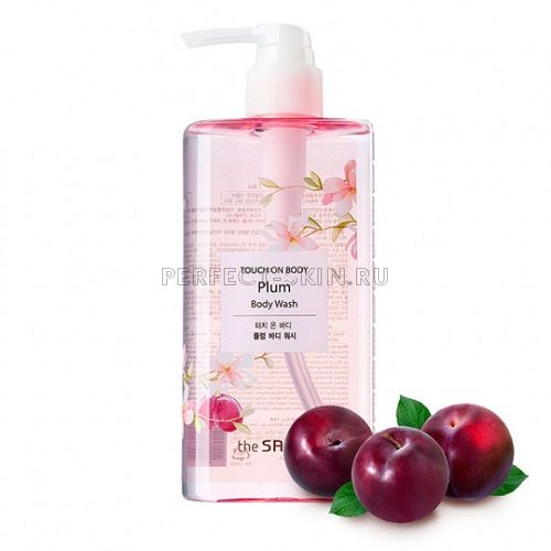 The Saem Touch On Plum Body Wash 300ml