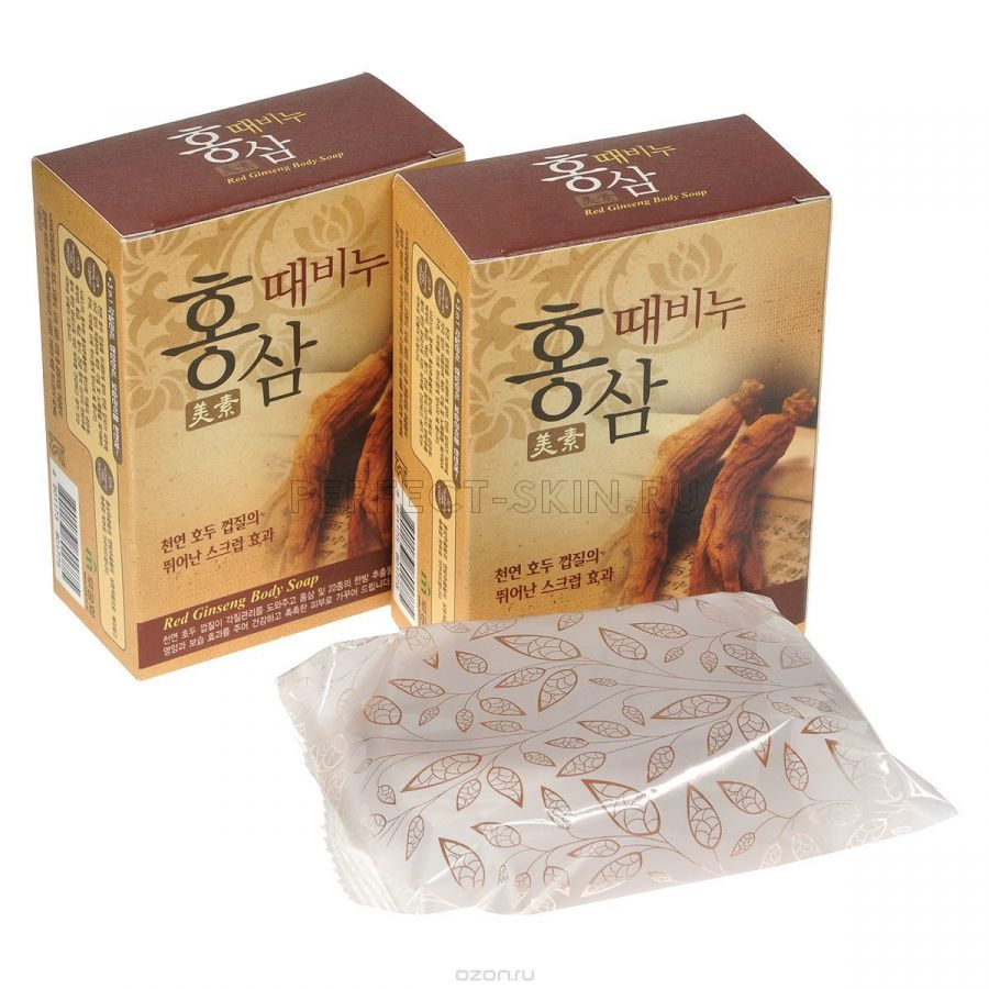 Mukunghwa Miso Red Ginseng Scrub Soap(for pharmacy) 100 g