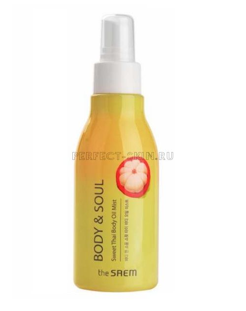 The Saem Body Soul Sweet Thai Body Oil Mistnew 150ml