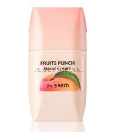 The Saem Fruits Punch Peach Hand Cream 50ml