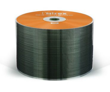 DVD+R Mirex 4,7 Гб 16x  Bulk 50