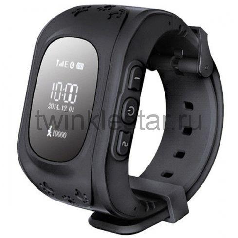 Умные детские часы с GPS Smart Baby Watch Q50 черный