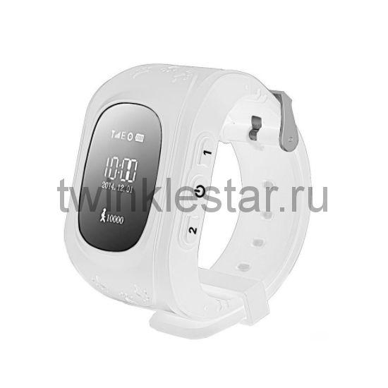 Умные детские часы с GPS Smart Baby Watch Q50 белый