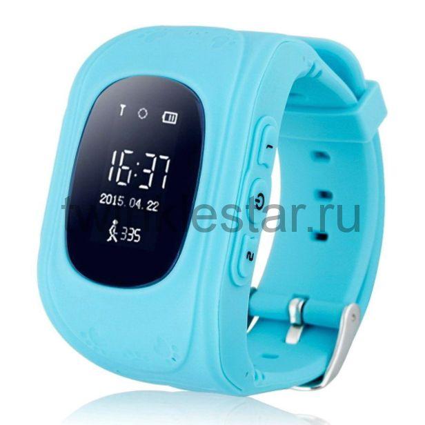Умные детские часы с GPS Smart Baby Watch Q50 голубой