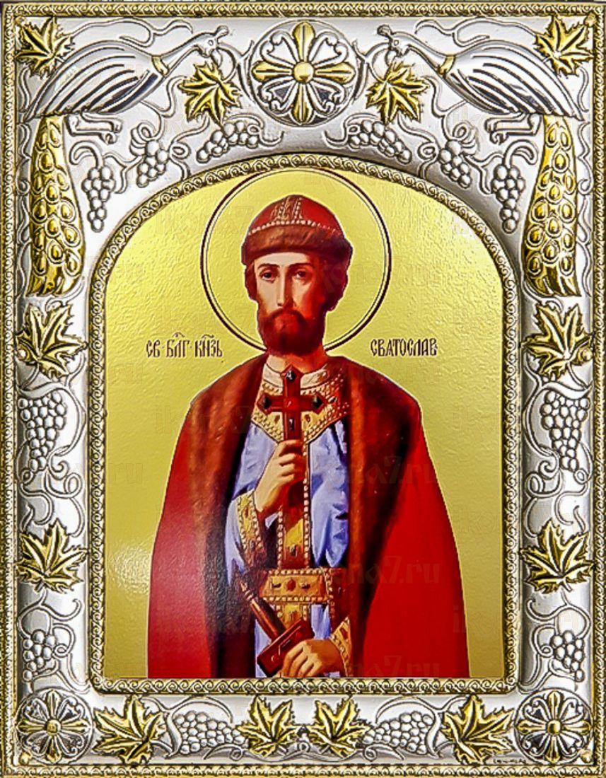 Святослав Владимирский (14х18), серебро