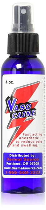 VASOCAINE TOPICAL ANESTHETIC SPRAY
