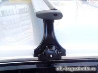 Багажник на крышу на ВАЗ-2113, ВАЗ-2114, ВАЗ-2115, Delta, аэродинамические (крыловидные) дуги