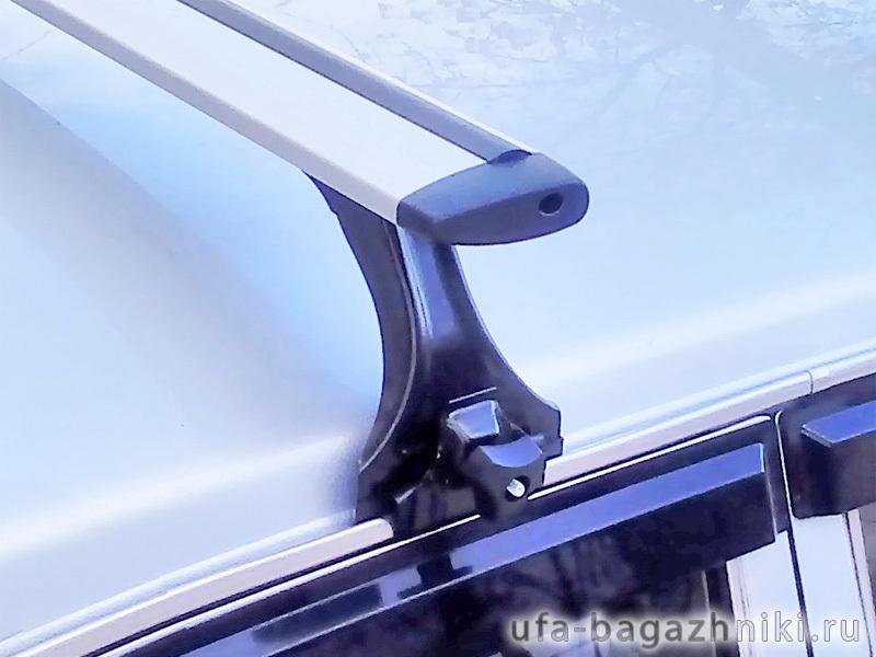 """Багажник на крышу на ГАЗ-3110 """"Волга"""", Delta, аэродинамические (крыловидные) дуги"""