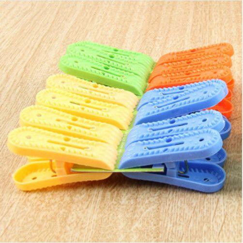 Набор разноцветных бельевых прищепок Pin Jia (14 шт)