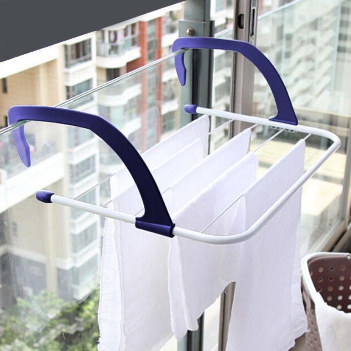 Многофункциональная навесная сушилка для белья Storage Skeleton Hanger
