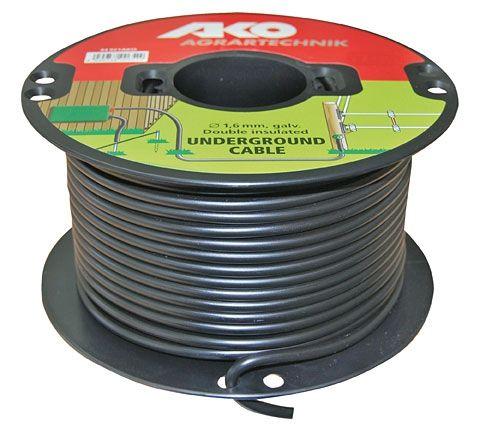 Провод для электроизгороди высоковольтный Ø1,6 мм/100 м Dairy