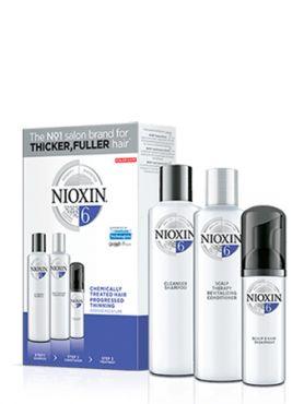 NIOXIN 3D Система 6 для химобработанных волос new