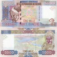 Гвинея 5000 Франков 2006 года ПРЕСС