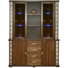 Шкаф комбинированный ТУНИС П343.06Ш венге