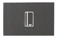 Выкл. карт. с задер. откл. (5-90 сек.) 2 мод ABB NIE Zenit Антрацит