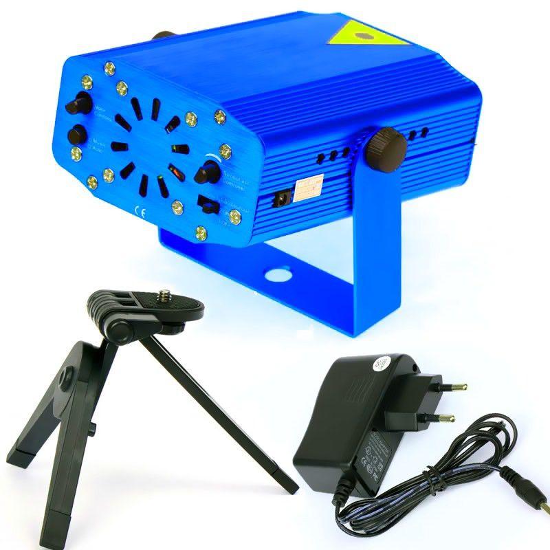Лазерный мини-проектор Mini Laser Starge Lighting