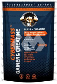 Гейнер CyberMass Mass + Creatine 1 кг