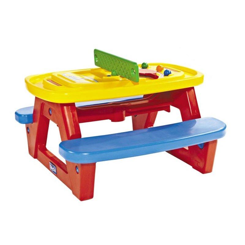 Cтолик Сhicco для игр или пикника с лавочками