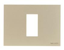 Рамка итал. станд. на 1 мод. ABB NIE Zenit Бел