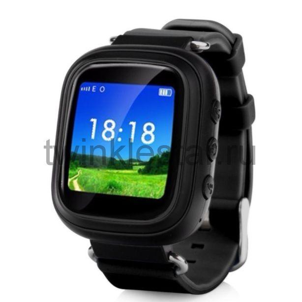 Умные детские часы с GPS Smart Baby Watch Q60S черный