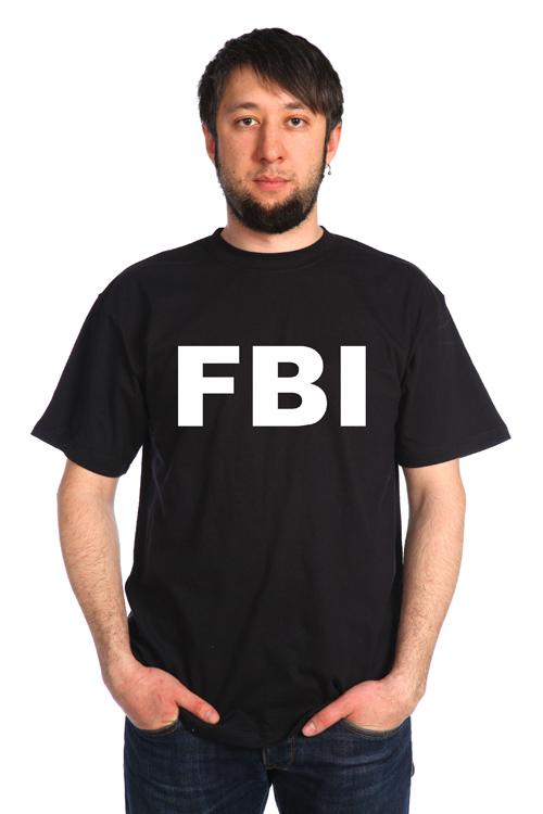 "Футболка мужская ""FBI"""
