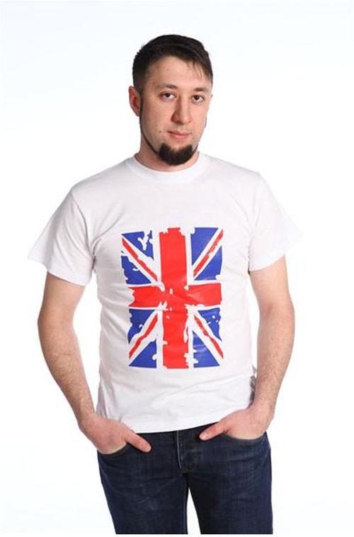 "Футболка мужская ""Британский флаг"""