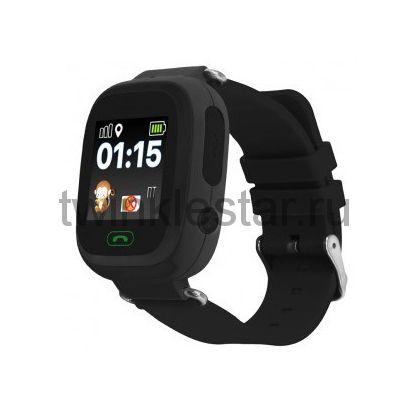 Умные детские часы с GPS Smart Baby Watch Q80 черный