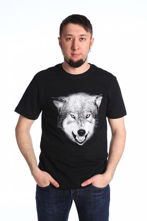 """Футболка мужская """"Волк"""""""
