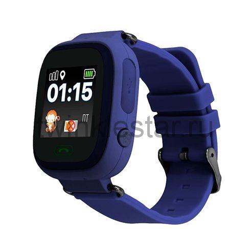 Умные детские часы с GPS Smart Baby Watch Q80 синий