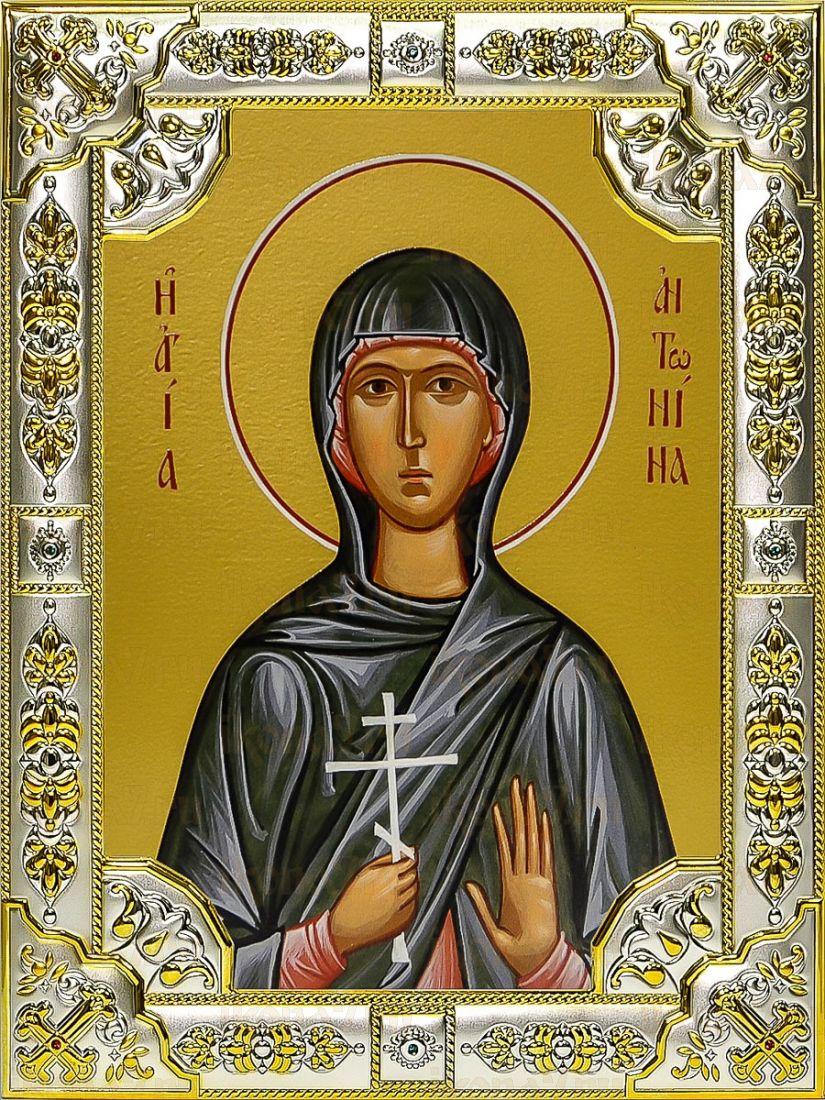 Антонина Никейская (18х24), серебро