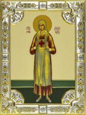 Аполлинария Тупицына (18х24), серебро
