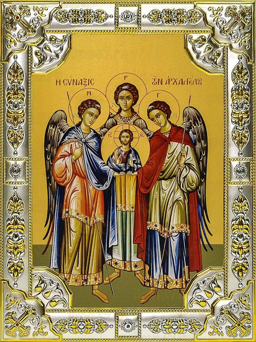 Собор архангелов (18х24), серебро