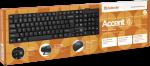 Клавиатура проводная Defender Accent SB-720 RU черный компактная
