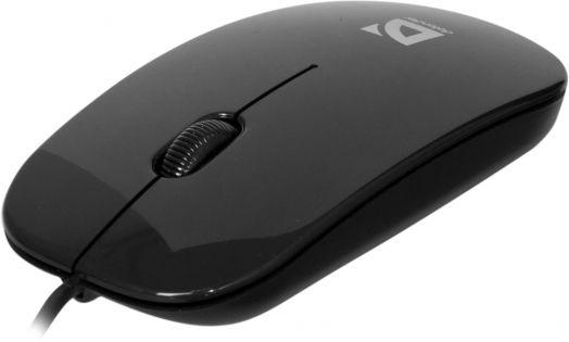 Мышь проводная Defender NetSprinter MM-440 черный