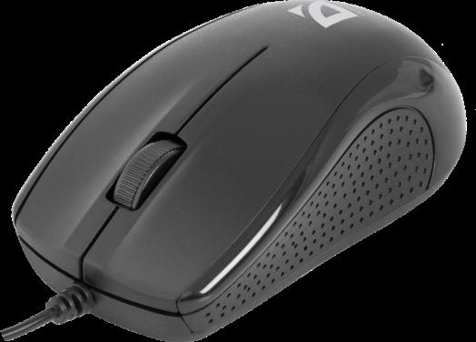 Мышь проводная Defender MB-160 черный