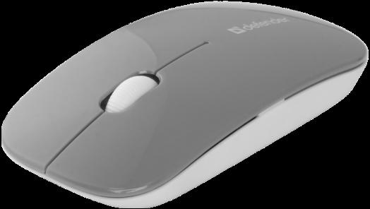 Мышь беспроводная Defender NetSprinter MM-545 серый+белый