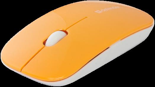 Мышь беспроводная Defender NetSprinter MM-545 оранжевый+белый