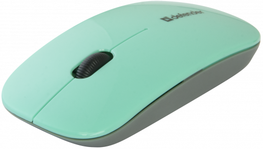 Мышь беспроводная Defender NetSprinter MM-545 зеленый+серый