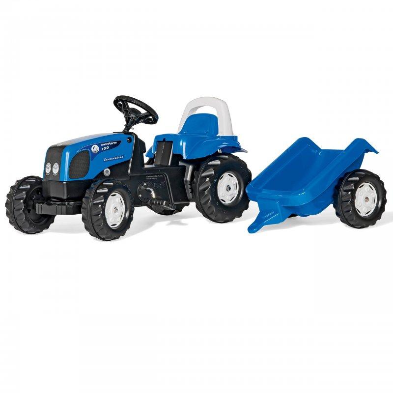 Трактор RollyToys Ролли тойс с прицепом 011841