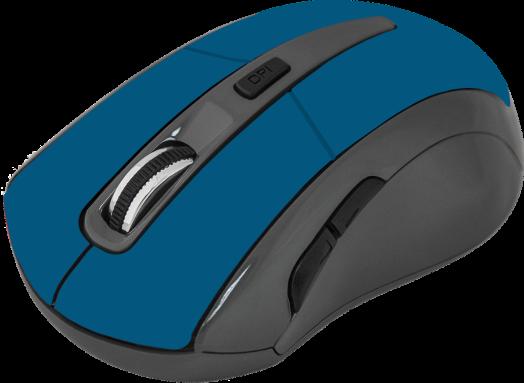 Мышь беспроводная Defender Accura MM-965 голубой