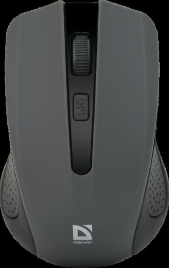 Мышь беспроводная Defender Accura MM-935 серый