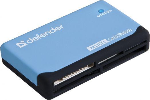 Картридер универсальный Ultra USB 2.0, 5 слотов DEFENDER