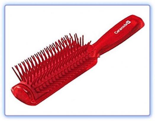 Массажная щетка для увлажнения и смягчения волос