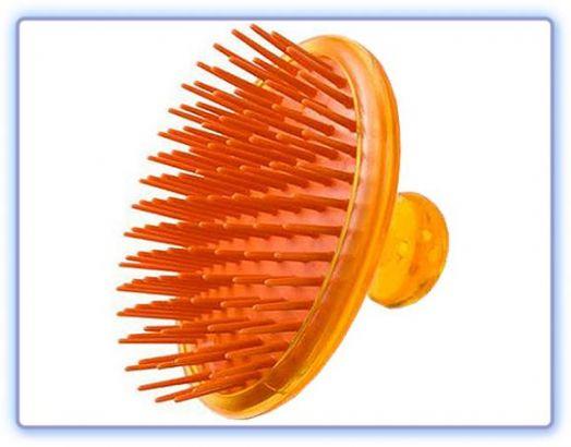 Массажер для кожи головы с медом и маточным молочком пчел
