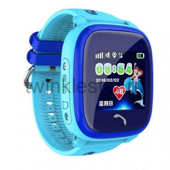 Умные детские водонепроницаемые часы Smart Baby Watch DF25G (GW400S) голубой