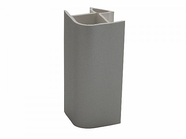 Угол для цоколя ПВХ 90 гр. (95 мм)